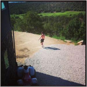 kev running
