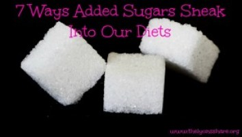 7 ways added sugars sneak into our diets