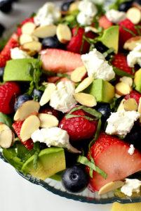 iowa girl eats berry salad