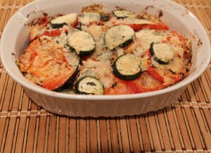 summer vegetable bake