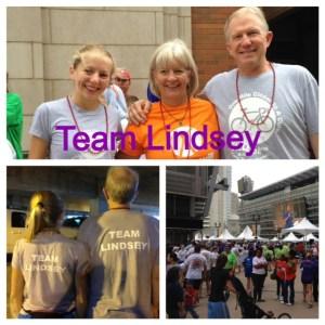 Team Lindsey at JDRF walk