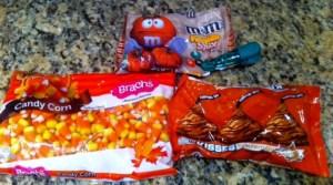 fall pumpkin candy