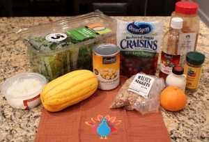 Cranberry Maple Delicata Salad 001