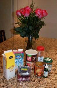 eggy oats in a jar ingredients