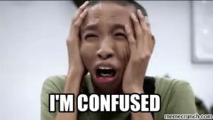 im confused