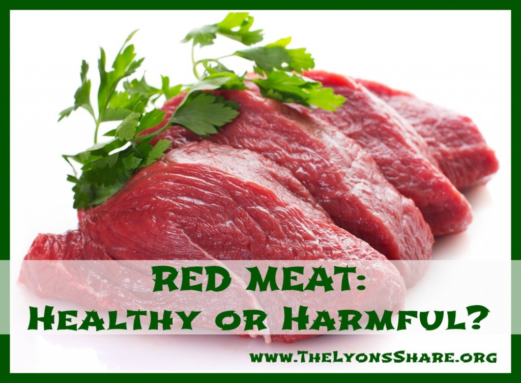 red meat healthy or harmful