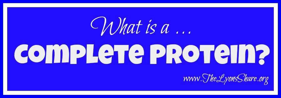 what is a complete protein