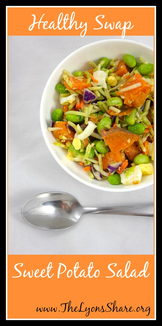 Healthy Swap Sweet Potato Salad 4