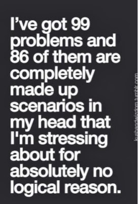 problems in my own head