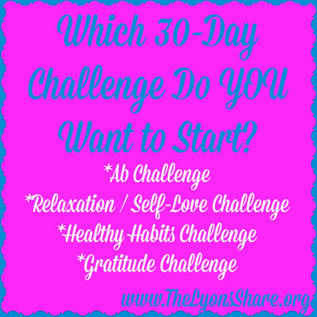 Goals Challenges And A Free 30 Day Challenge