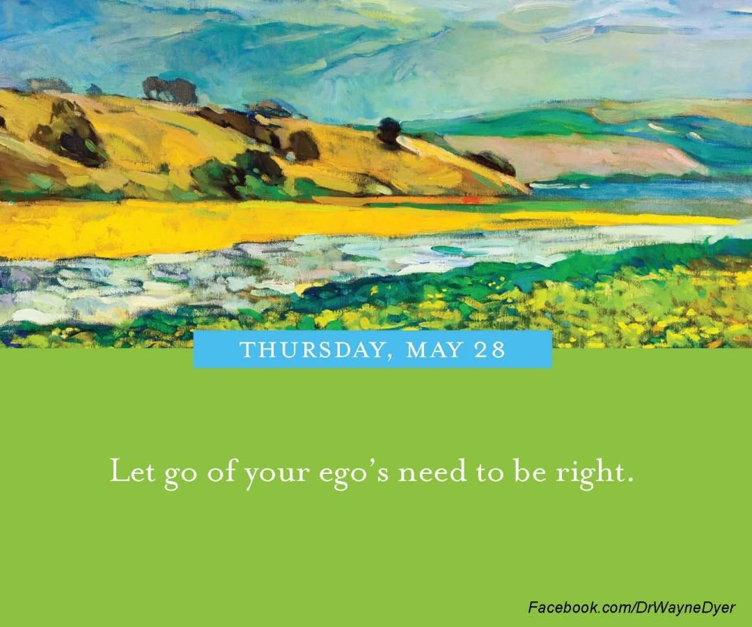 dr wayne dyer quote let go of ego