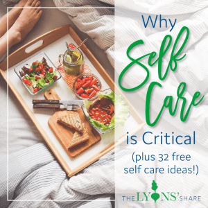 Why self care is critical