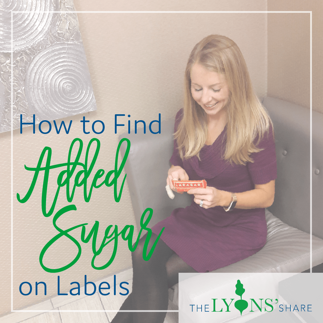 How to Find Added Sugar on Labels