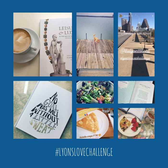 lyons love challenge entries