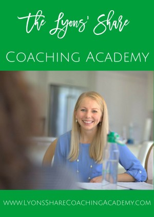 The Lyons' Share Coaching Academy