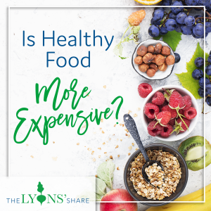 is healthy food more expensive