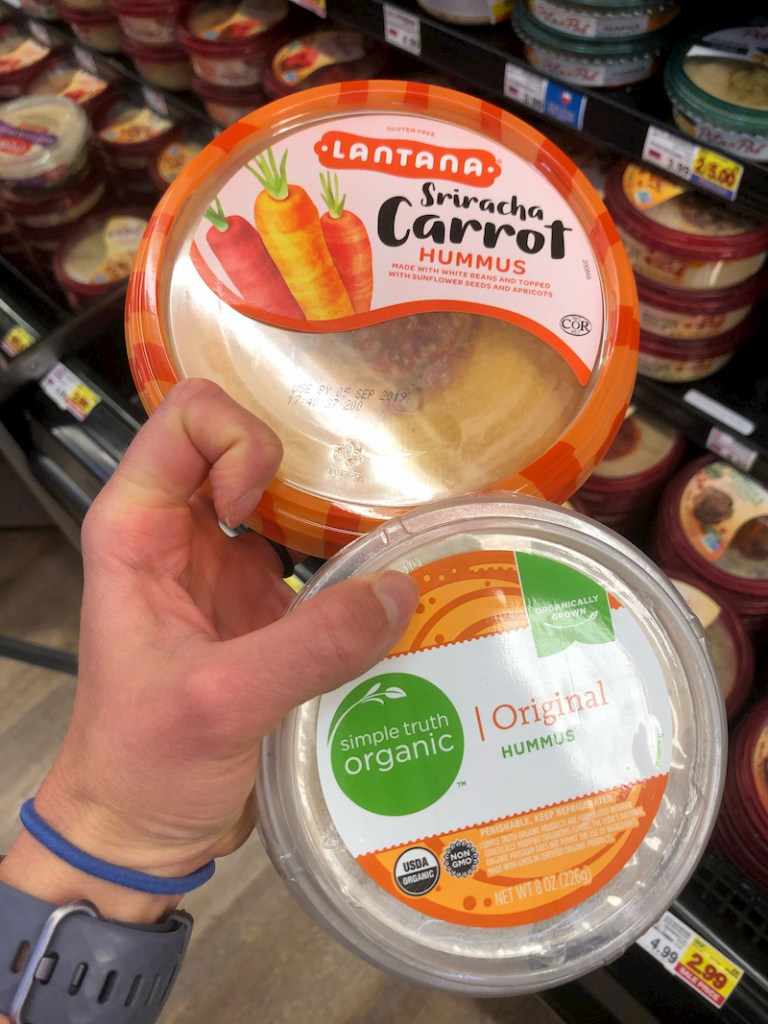 Kroger veggie hummus