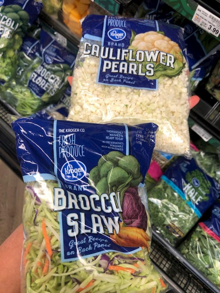 Kroger vegetables