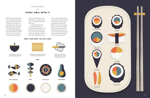 Taste: The Infographic Book of Food by Laura Rowe