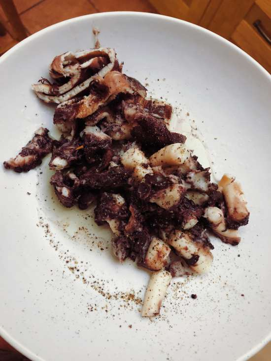 How to cook octopus