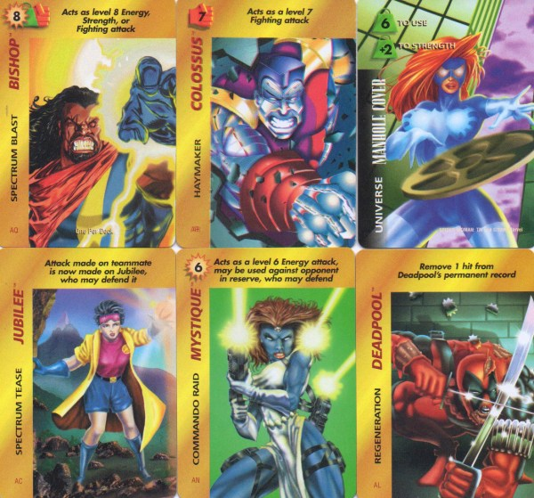 M6p Marvel Trading Card Games