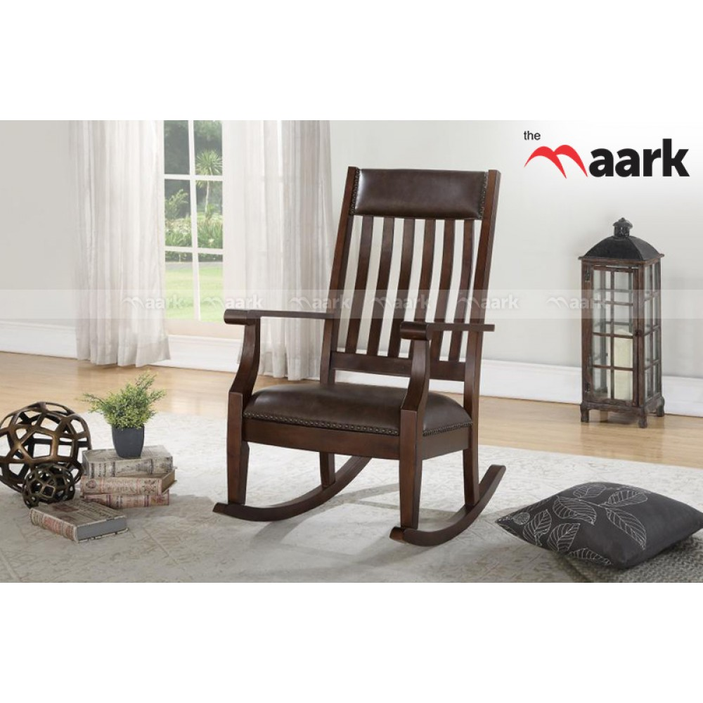 floor rocking chair india folding tesco buy online at best prices in wooden hand carved