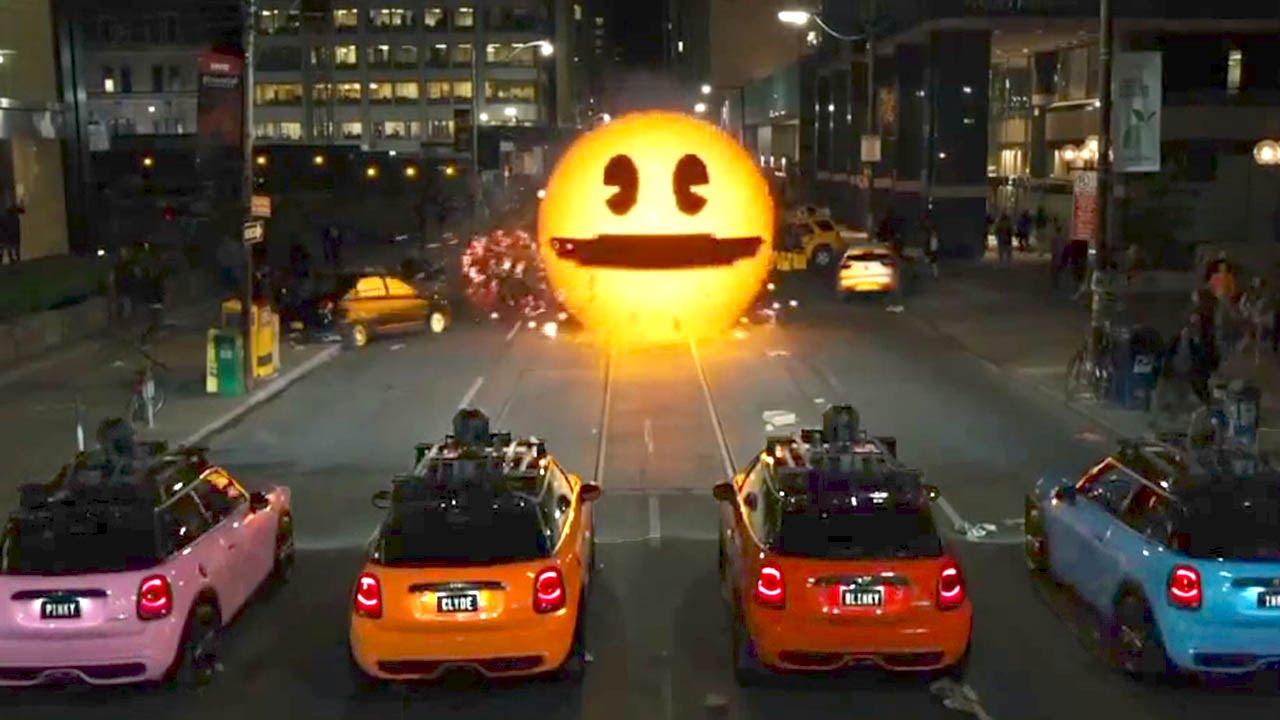 Pac-Man multato per sosta vietata in Pixels