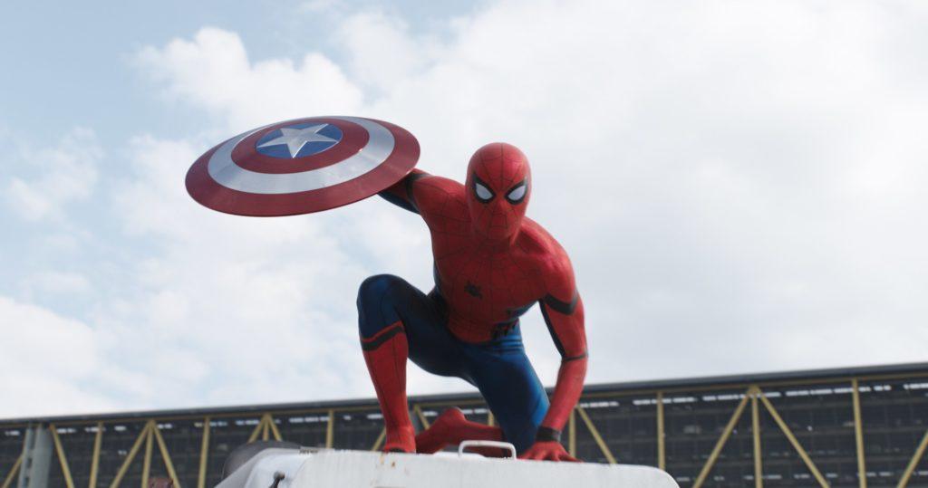 Captain America Civil War Spider-Man-Shield-Official