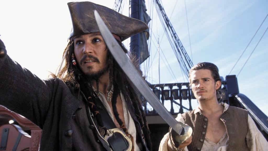 pirati dei caraibi pirates of the caribbean la maledizione della prima luna jack sparrow johnny depp 5