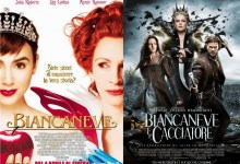 I film gemelli Biancaneve e Bincaneve e il Cacciatore