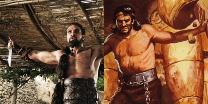 Khal Drogo - il trono di spade