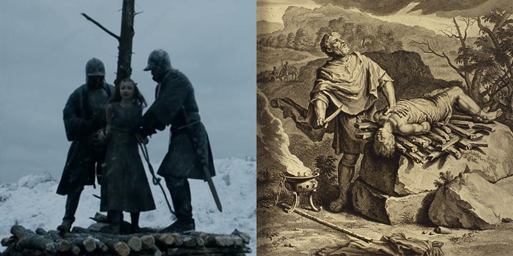 Stannis e Shireen Baratheon - il trono di spade