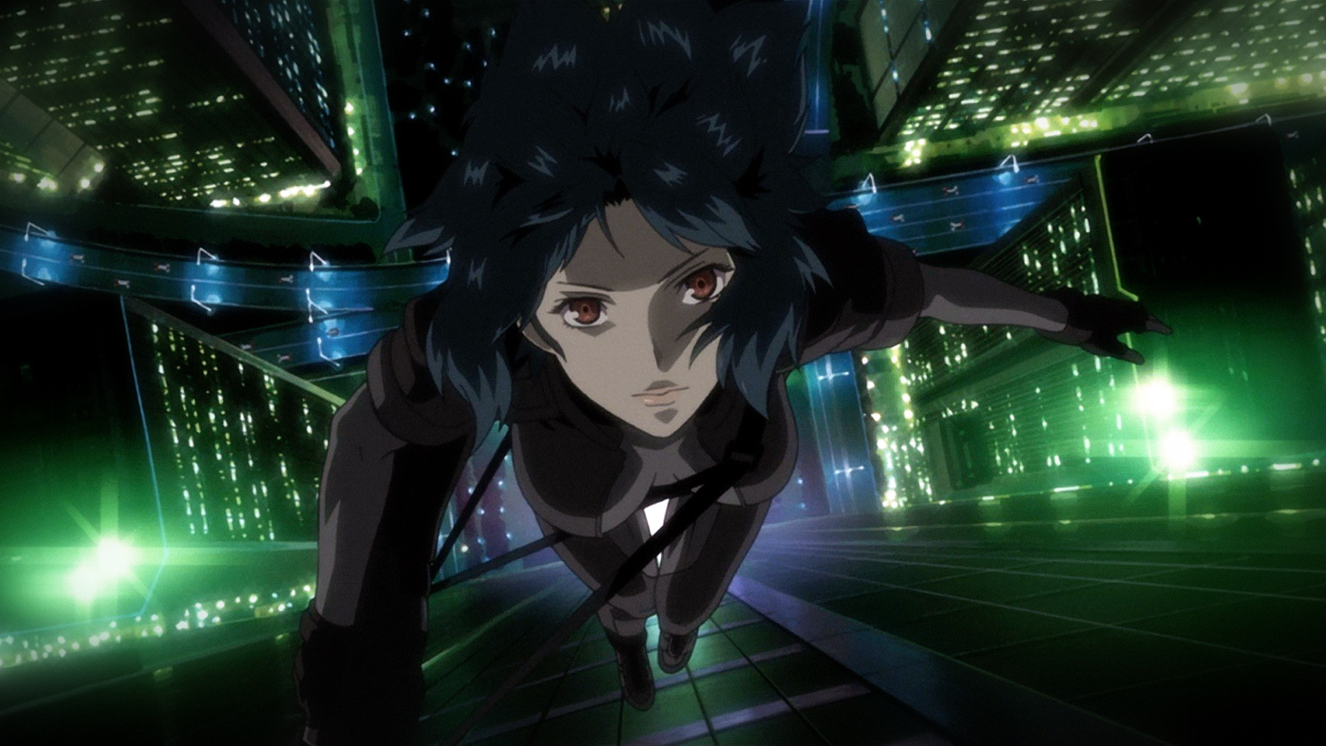 ghost in the shell caduta