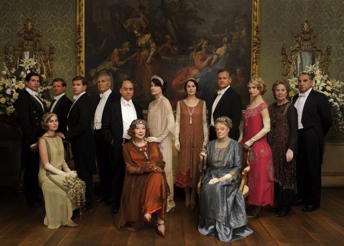 Upstairs. La famiglia Crawley