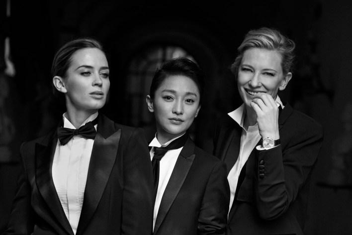 smoking donne moda cinema fascino androgino