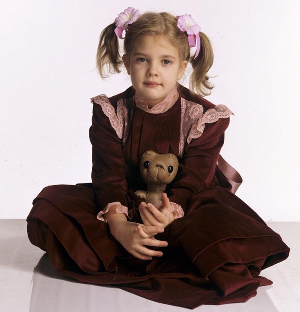 Drew Barrymore et bambini prodigio