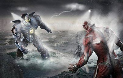 Attack on Titan vs Pacific Rim