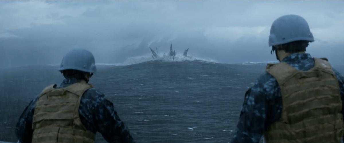 Godzilla sott'acqua