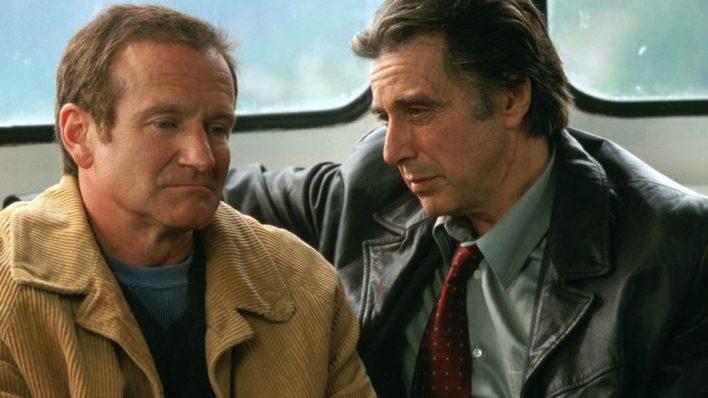 """Robin Williams e Al Pacino in """"Insomnia"""""""