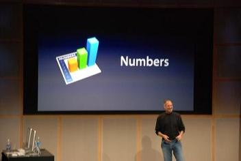 Apple's iWork '08 Introduces Numbers Spreadsheet With Keynote ...