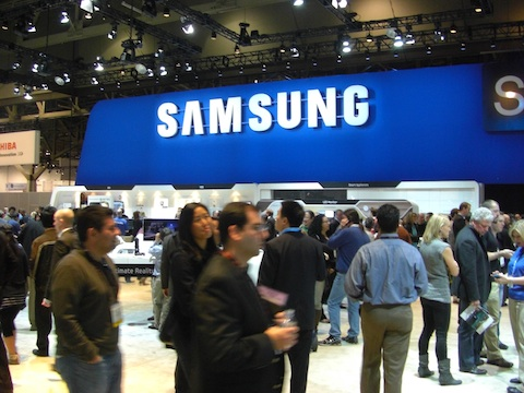 Samsung CES 2011 Booth