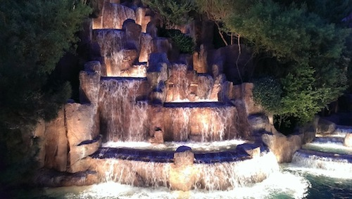 Wynn Las Vegas Waterfall HTC One UltraPixel Photo