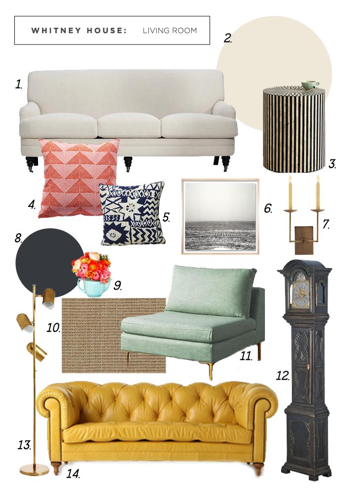 Whitney Living Room Style