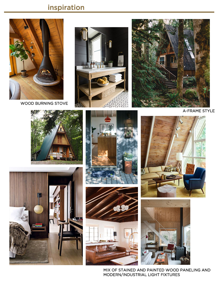 Inspiration Moodboard for Jack's House