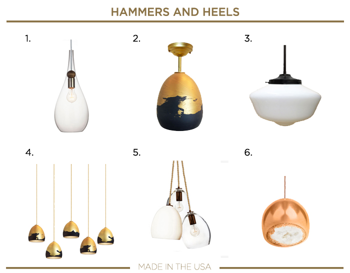 Made in the USA plumbing fixtures_HAMMERS AND HEELS
