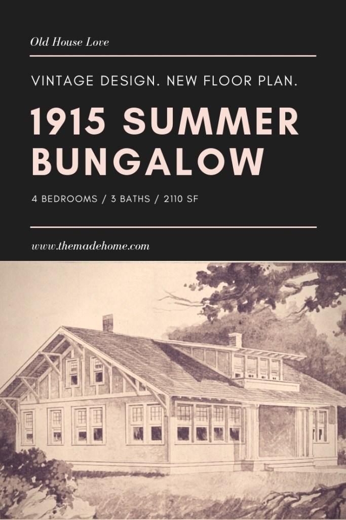 Free Resource - Bungalow Plan
