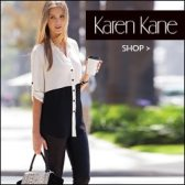 Karen Kane, Women's contemporary clothing and accesssories, dresses, skirts, pants, jeans, Made in USA, Made in America, American made