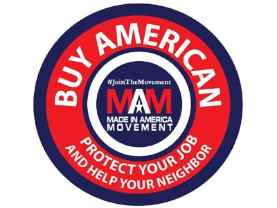 BUY AMERICAN - Look for the Made in USA Label