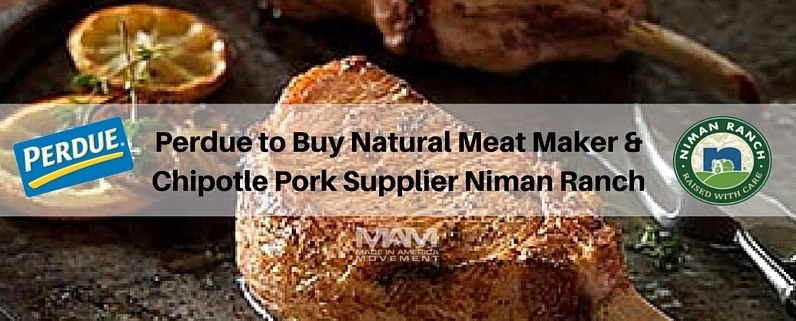Perdue to Buy Niman Ranch, Chipotle Pork Supplier & Natural Meat Maker
