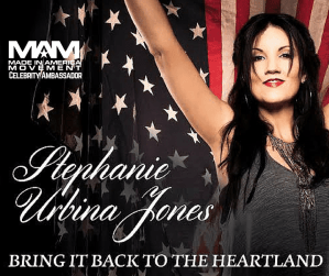 The Made in America Movement proudly announces contemporary country music artist, Stephanie Urbina Jones, as their first Celebrity Ambassador! - Stephanie Urbina Jones